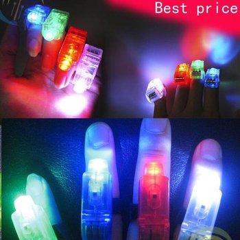 Free Shipping 108pcs/lot  led finger lamp  festival products flashing bracelet lighting flash sticks festival best price