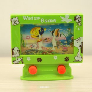 Best selling!! Handheld game  for children educational toys computer to fetch water machine Free shipping 5pcs/lot