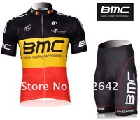 Мужская одежда для велоспорта Brand New 2012 Tour de France B*M*W black Short Sleeve Cycling Clothing Jersey & Bib Shorts Sets
