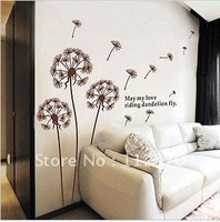 3set/lot Free shipping , 45*60CM, hanging,Combination Wall Stickers,  wholesale