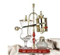 Royal balancing siphon coffee maker/belgium coffee maker,syphon coffee maker,nice champagne color ,famouse brand