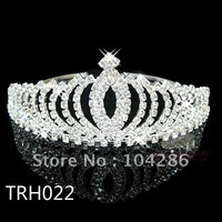 Wedding crown rhinestone tiara crown crystal hair jewelry 60pcs/lot assort styles free shipping