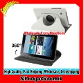 360 Degree Rotation Leather Case with Holder for Samsung Galaxy Tab 2 (7.0) / P3100, white Free Shipping
