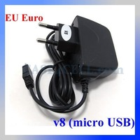 EU Euro Travel Charger for Samsung/HTC/Sony Ericsson/Motorola/LG Home Charger AC Wall Adapter, 50pcs/lot