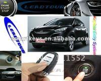 Auto smart start system car push button start engine smartkey system keyless for Hyundai IX35