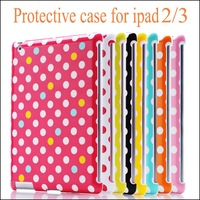 Free Shipping Original wkae dot series ABS protection Case for iPad 3 for the new ipad