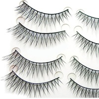 FREE SHIPPING HIGH QUAITY Hand Made False Eyelash 10Pairs Eyelashes  EL-P30# ANGEL
