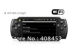 4.3inch JXD S601 MP5 Gaming game console player Tablet PC +WIFI+Android 2.3 Cortex-A9 512MB+ 4GB Resistance Screen +Camera(China (Mainland))