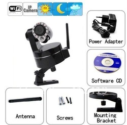 free shipping CMOS IP Camera,720P,PTZ,IR-CUT,WIFI,SD Card,RJ-485, HD Motion Detection,Mobile Phone,FTP,DNS,WIFI creazy sale(China (Mainland))