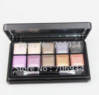6pcs/lot Pro 10 color Pearl Eyeshadow Palette Eye Shadow Makeup Kit 2colors/lot M-612 1--6#