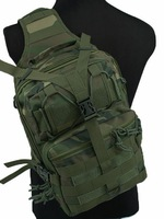 Tactical Utility Gear Sling Bag Backpack Camo Woodland free ship