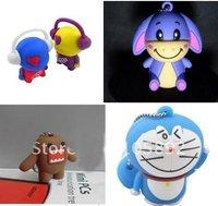 Freeshipping 4GB 50pcs /lot Doraemon USB ,Musician USB ,eeyore USB in the lowest price