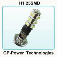 2012 Newest Free shipping+10pcs/lot+H1 25SMD 5050 Car LED Fog Light