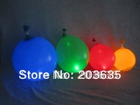 competive price RGB flashing led  light balloon/changeable led light up balloon
