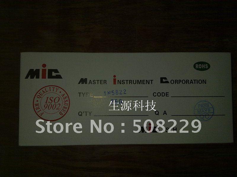 Schottky Diode Construction Schottky Diode 1n5822 In5822