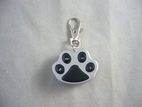 Blinking Pet Tag with 4 red led lights, FREE SHIPPING !