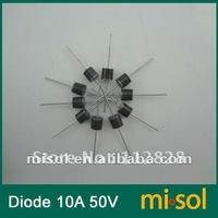 10pcs/lot - 10A 50V Schottky Diode, SCHOTTKY BARRIER RECTIFIER, for solar panel DIY