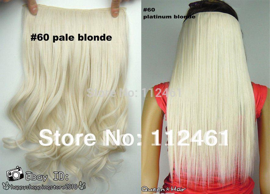 Platinum Blonde Hair Extensions 24 Inch 81