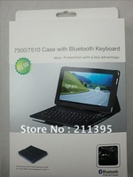Hot Selling!5pcs/Lot Bluetooth Wireless Keyboard Case for Samsung Galaxy Tablet PC P7500 P7510,Fast Delivery