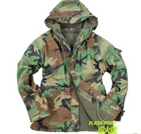 Free shipping 2012 hot sale winter men outdoor senior American jungle camouflage G8 in grasping flocking dust coat
