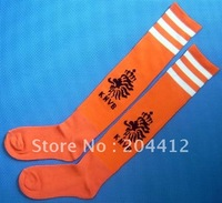 Netherlands Holland Football Soccer Knee High Long Socks Orange Adult Size