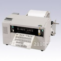 TOSHIBA B-852 industrial barcode printer A4 paper size label printer machine instructions(China (Mainland))