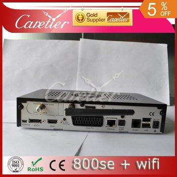 DM800hd se wifi 300mbps WLAN inside dvb 800 se sim2.10 BCM4505 tuner set top box dm 800se wifi wholesale  (1pc se wifi)