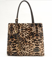 free shipping j1130 pu bag Fashionable female bag high-capacity handbag Leopard grain bag Shoulder bag