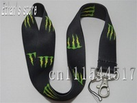 Brand New Soft Fabric key lanyard For ID,Badge,Mp3 cellphone+Free Shipping
