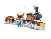 Best selling!! 3D DIY puzzles WANGE building blocks children toys model of train Free shipping,1pcs