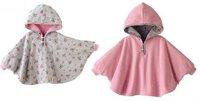 baby children Poncho Cloak Layers Coat kids infant smock manteau mantle Manteau cotton 1pcs retail both sides can be wer .