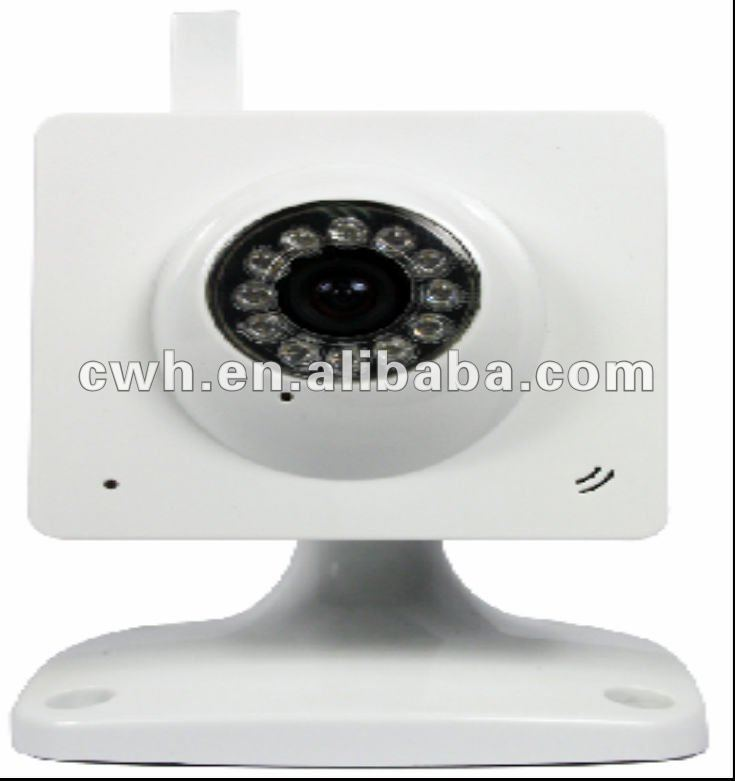 2pcs/Lot Cheapest Offer!!Camera Surveillance WIFI with Night Vision with CE,FCC,Rohs Dropshipping Model CWH-W4546W(China (Mainland))