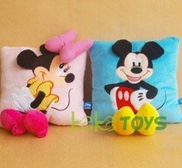 *Free shipping(China post), retailsale,cute cartoon pillow,lover's pillow ,2kinds ,33*43cm