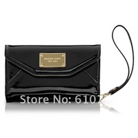 wholesale high quality Original packaging  Michael  real leather Wallet case for  4G  20pcs/lot  free shipping