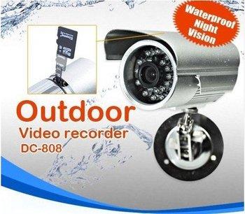 Waterproof CCTV Security DVR Camera SD-Card DC-808