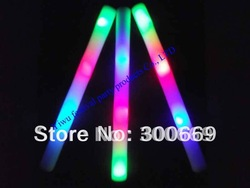 customize logo cheap free shipping foam light stick printting logo(China (Mainland))