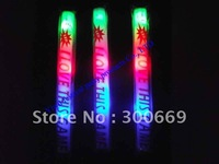 customize logo promotion free shiping foam glow sticks for party  wholesale printting logo