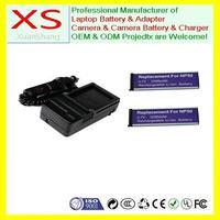 2x Battery+Charger for CASIO NP-50 NP50 NP-50DBA EX-V7SR EX-V8SR EX-V7 EX-V8