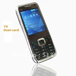 Mini E71 TV Dual SIM Quad Band Unlocked Cell Phone Polish / Russian Menu mpE71z0d1(China (Mainland))