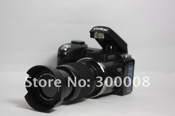 Wholesale slr Camera+ with Wide angle+standard,+long distance lense+16mp+3.0 TFT display+free shipping=excellent