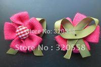"""50Pcs rose pink Button floret  Scrapbooking Embellishment DIY craft Free Shipping 2"""""""