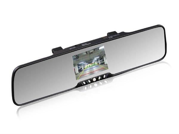 "3.5"" TFT Bluetooth rearview mirror+ car backup camera + speaker+fm transmitter(China (Mainland))"