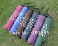 Wholesale three folding umbrella / umbrella 110 CM / 10 bone