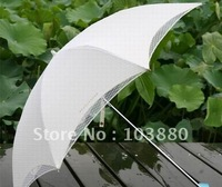 Wholesale double net yarn umbrella / two folding umbrellas / parasols