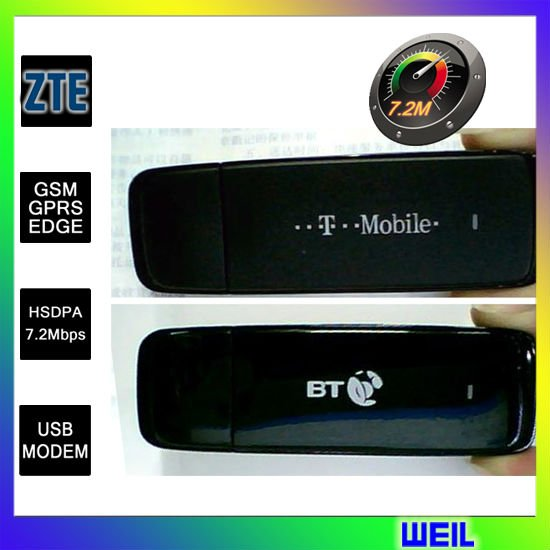 ZTE MF636 Wireless 3G USB modem 7.2 Mbps free shipping WEIL(Hong Kong)