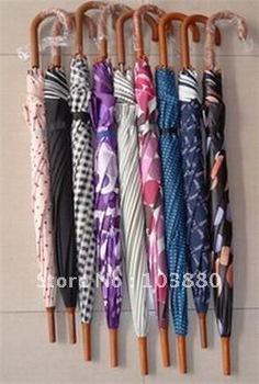 Wholesale color long-handled umbrella / gift umbrella / parasol
