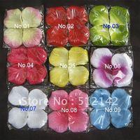 Wholesale 2000 pcs silk rose petals, many color can be mixed order, free shipping by China Post AIr Mail.