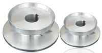 Aluminium Plate/Al platen, Size :130-50-30mm For Glass edging machine.
