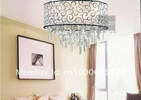 Hot Selling 4 light Modern Europeam Style ,Ctrystal Ceiling Lamp Foxtire,Hall Lamp