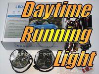 Universal fit Daytime Running Lights LED SMD Kit Super White 12V 6000K Bulbs Lamps Globes (Round Type)